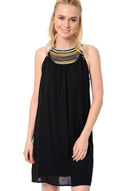 Vero Moda Yazlık Elbise Siyah